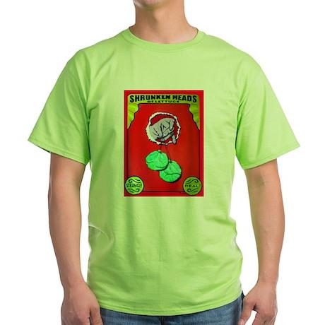 Produce Sideshow: Lettuce Green T-Shirt