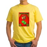 Produce Sideshow: Lettuce Yellow T-Shirt