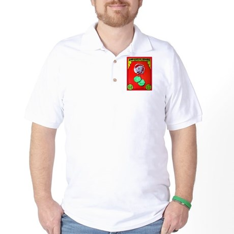 Produce Sideshow: Lettuce Golf Shirt