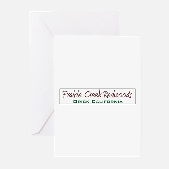 Prairie Creek Redwoods Shirts Greeting Cards (Pk o