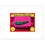 Produce Sideshow: Zucchini Small Poster