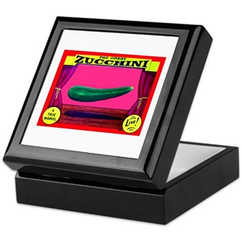 Produce Sideshow: Zucchini Keepsake Box