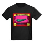 Produce Sideshow: Zucchini Kids Dark T-Shirt