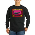 Produce Sideshow: Zucchini Long Sleeve Dark T-Shir
