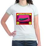 Produce Sideshow: Zucchini Jr. Ringer T-Shirt