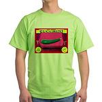 Produce Sideshow: Zucchini Green T-Shirt