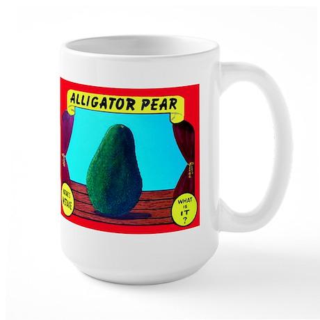 Produce Sideshow: Avocado Large Mug