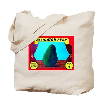 Produce Sideshow: Avocado Tote Bag