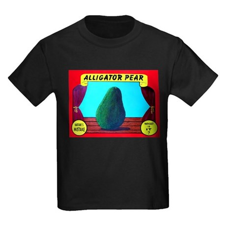 Produce Sideshow: Avocado Kids Dark T-Shirt