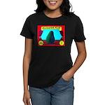 Produce Sideshow: Avocado Women's Dark T-Shirt
