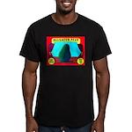 Produce Sideshow: Avocado Men's Fitted T-Shirt (da