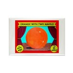 Produce Sideshow: Orange Rectangle Magnet