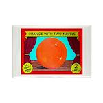 Produce Sideshow: Orange Rectangle Magnet