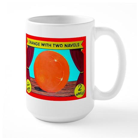 Produce Sideshow: Orange Large Mug