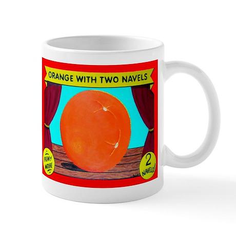 Produce Sideshow: Orange Mug