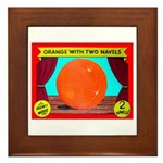 Produce Sideshow: Orange Framed Tile