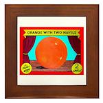 Produce Sideshow: Orange Framed Tile