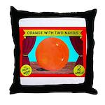 Produce Sideshow: Orange Throw Pillow