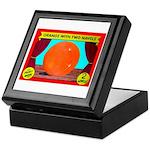 Produce Sideshow: Orange Keepsake Box