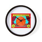 Produce Sideshow: Orange Wall Clock