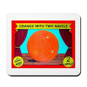 Produce Sideshow: Orange Mousepad