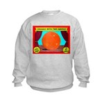 Produce Sideshow: Orange Kids Sweatshirt