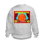 Produce Sideshow: Orange Kids Sweatshirt