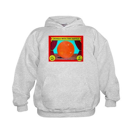 Produce Sideshow: Orange Kids Hoodie