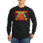 Produce Sideshow: Orange Long Sleeve Dark T-Shirt