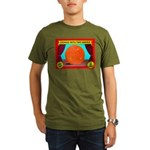 Produce Sideshow: Orange Organic Men's T-Shirt (da