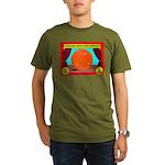 Produce Sideshow: Orange Organic Men's T-Shirt (da