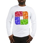 Aerial Colors Long Sleeve T-Shirt