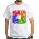 Aerial Colors White T-Shirt