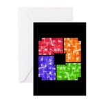 Aerial Colors Greeting Cards (Pk of 10)