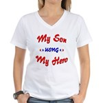 Julie's Custom Homecoming Women's V-Neck T-Shirt