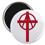 Anarchist Crucifix 100 Round Magnets