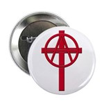 Anarchist Crucifix 100 Round Buttons