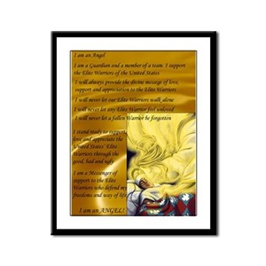 The Angel Creed Framed Panel Print