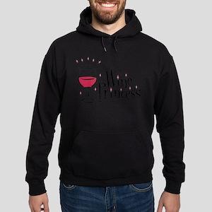 Wine Princess Hoodie (dark)
