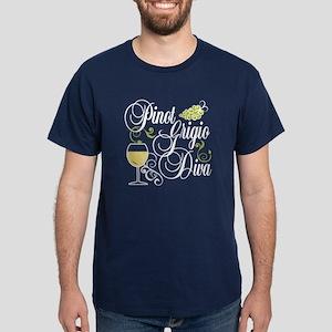 Pinot Grigio Diva Dark T-Shirt