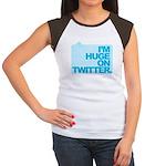 I'm Huge on Twitter. Women's Cap Sleeve T-Shirt