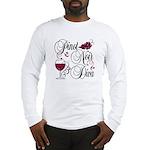 Pinot Noir Diva Long Sleeve T-Shirt