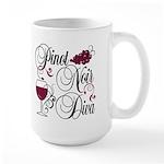 Pinot Noir Diva Large Mug