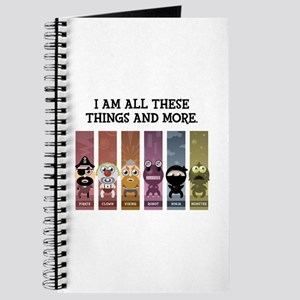 I Am All These Things And More Journal
