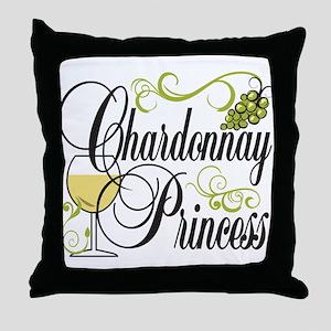 Chardonnay Princess Throw Pillow