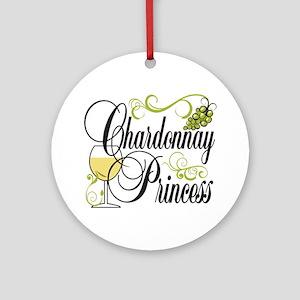 Chardonnay Princess Ornament (Round)