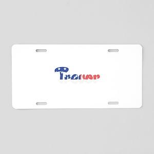 Trevor Aluminum License Plate