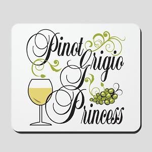 Pinot Grigio Princess Mousepad
