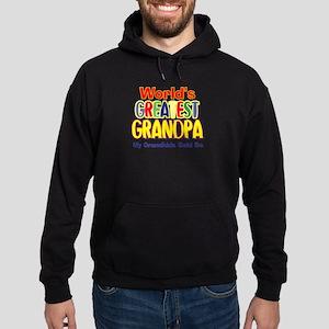World's Greatest Grandpa Hoodie (dark)
