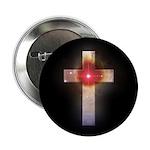 Celestial Cross Button